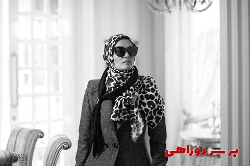 میترا حجار در سریال نوروزی «بر سر دوراهی»
