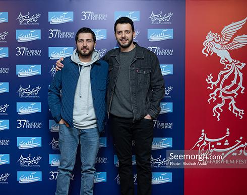 جشنواره فیلم فجر,عکس های جشنواره فیلم فجر,فرش قرمز جشنواره فیلم فجر,روز چهارم جشنواره فیلم فجر,امیرحسین غفاری