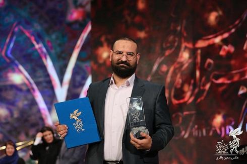 محمدحسین قاسمی همسر نرگس آبیار، تهیه کننده فیلم «شبی که ماه کامل شد»