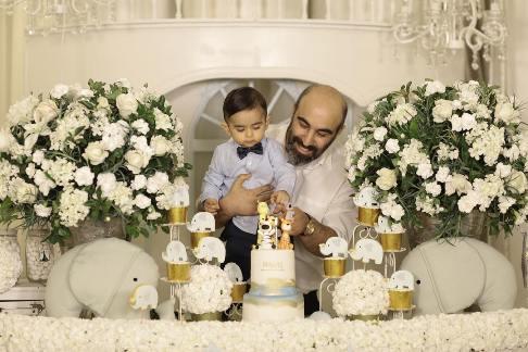 تولد پسر محسن تنابنده