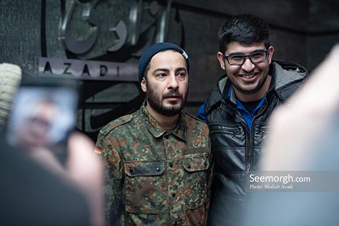 جشنواره فیلم فجر,عکس های جشنواره فیلم فجر,فرش قرمز جشنواره فیلم فجر,روز چهارم جشنواره فیلم فجر,نوید محمدزاده