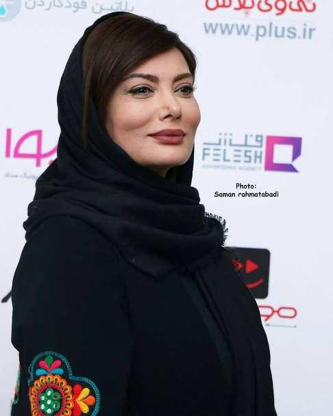 چهره نگار فروزنده در افتتاحیه سریال رقص روی شیشه