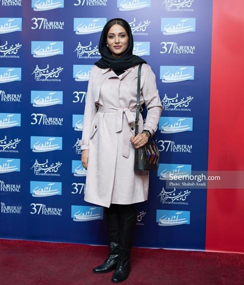 جشنواره فیلم فجر,عکس های جشنواره فیلم فجر,فرش قرمز جشنواره فیلم فجر,روز چهارم جشنواره فیلم فجر,پریناز ایزدیار