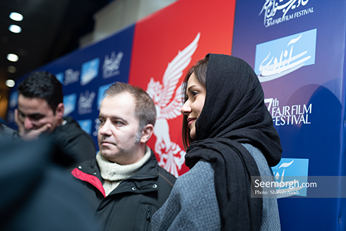 جشنواره فیلم فجر,روز ششم جشنواره,عکس های بازیگران,پریناز ایزدیار
