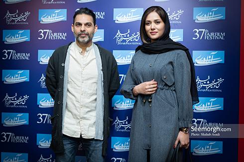 جشنواره فیلم فجر,روز ششم جشنواره,عکس های بازیگران,پریناز ایزدیار,پیمان معادی