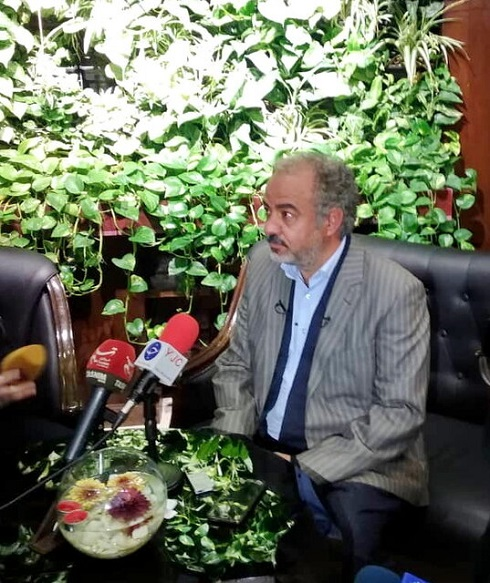 سعيد آقاخاني کارگردان و بازيگر سريال «ن. خ»