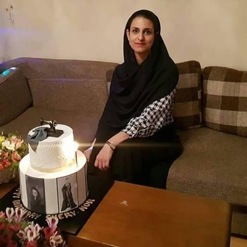عکس جشن تولد شهرزاد مدیری