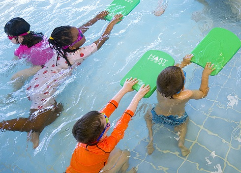 کلاس شنا