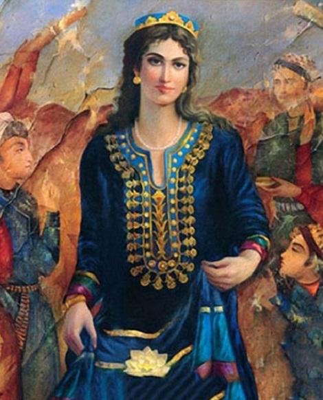 همای چهرآزاد دختر بهمن