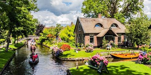 محبوب ترین مقصد گردشگران در اروپا: «ونیز هلند»