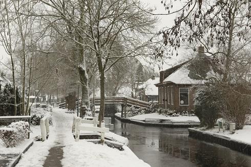 «ونیز هلند» مقصد زیبای گردشگری در زمستان
