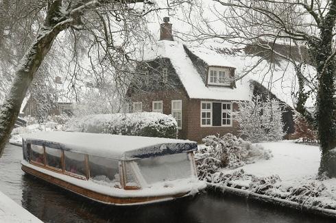 سفر زمستانی به «ونیز هلند»