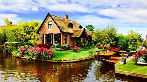 طبیعت رویایی در «ونیز هلند»
