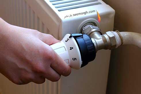 تنظیم دمای رادیاتور