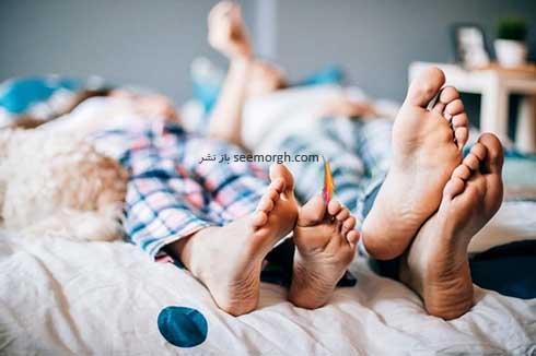 خوابیدن با پیژامه