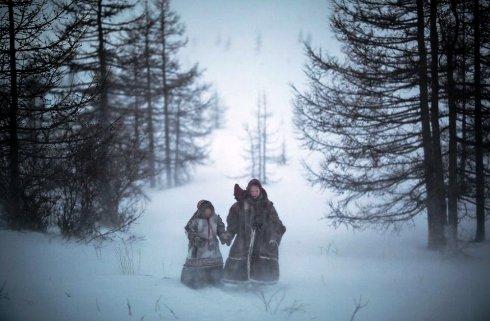 قدم زدن زمستاني
