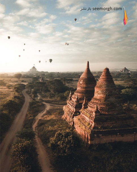 عکاسی هوایی,برندگان عکاسی هوایی,مسابقه عکاسی,Dron,Bagan