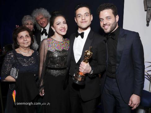 رامی مالک,برنده اسکار,بازیگر برنده اسکار,اسکار 2019,بهترین بازیگر,Rami Malek