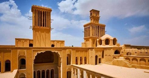 خانه آقازاده یزد با زیباترین بادگیر ایران