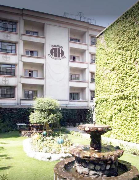 حیاط پشتی هتل و محل تونلهای ادعایی