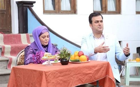 بهاره رهنما و حامد آهنگی در سریال طنز نوروزی شش قهرمان و نصفی