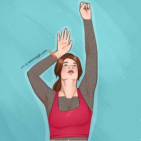 10 ورزش ساده برای بالا کشیدن سینه و خوش فرم شدن بازو