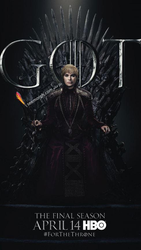 بازي تاج و تخت, بازيگران بازي تاج و تخت,فصل هشتم,پوسترها,Game of Thrones,سرسي لنيستر