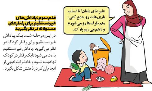 تربیت کودک,تربیت کودک مسئولیت پذیر,راه هایی برای تربیت کودک مسئولیت پذیر,قدم سوم برای تربیت کودک مسئولیت پذیر