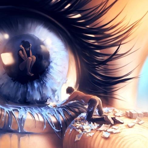 نقاشی,نقاشی مفهومی,روانشناس,Cyril Rolando
