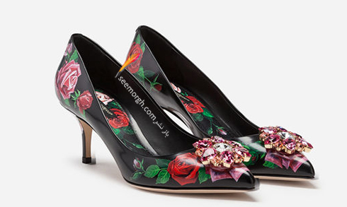 کفش,کفش زنانه,جدیدترین مدل کفش,جدیدترین مدل کفش زنانه,دولچه اند گابانا,کفش دولچه اند گابانا,جدیدترین مدل کفش زنانه دولچه اند گابانا برای بهار 2019 - مدل شماره 10