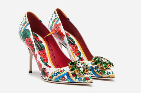 کفش,کفش زنانه,جدیدترین مدل کفش,جدیدترین مدل کفش زنانه,دولچه اند گابانا,کفش دولچه اند گابانا,جدیدترین مدل کفش زنانه دولچه اند گابانا برای بهار 2019 - مدل شماره 8