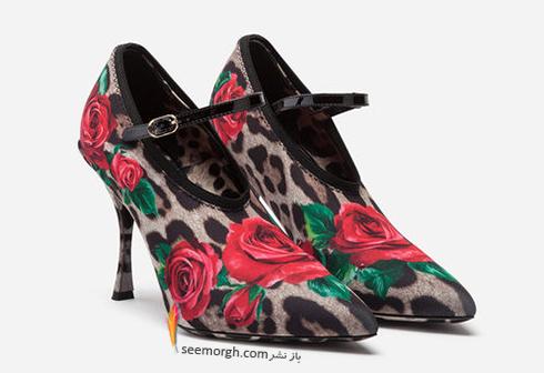 کفش,کفش زنانه,جديدترين مدل کفش,جديدترين مدل کفش زنانه,دولچه اند گابانا,کفش دولچه اند گابانا,جديدترين مدل کفش زنانه دولچه اند گابانا براي بهار 2019 - مدل شماره 7
