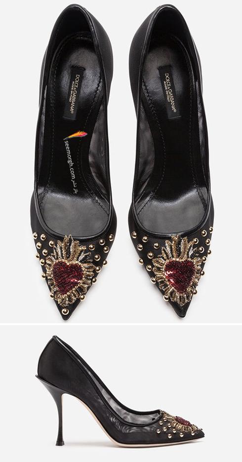 کفش,کفش زنانه,جدیدترین مدل کفش,جدیدترین مدل کفش زنانه,دولچه اند گابانا,کفش دولچه اند گابانا,جدیدترین مدل کفش زنانه دولچه اند گابانا برای بهار 2019 - مدل شماره 13
