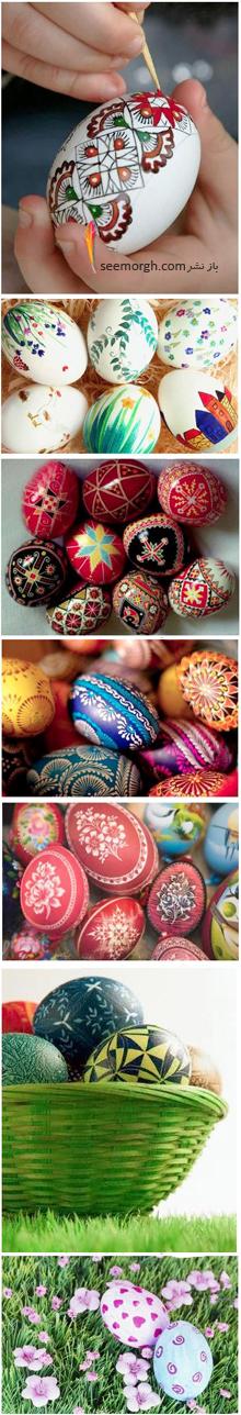 تخم مرغ هفت سین,تزیین تخم مرغ,تزیین تخم مرغ هفت سین,تزیین تخم مرغ هفت سین برای نوروز با نقاشی