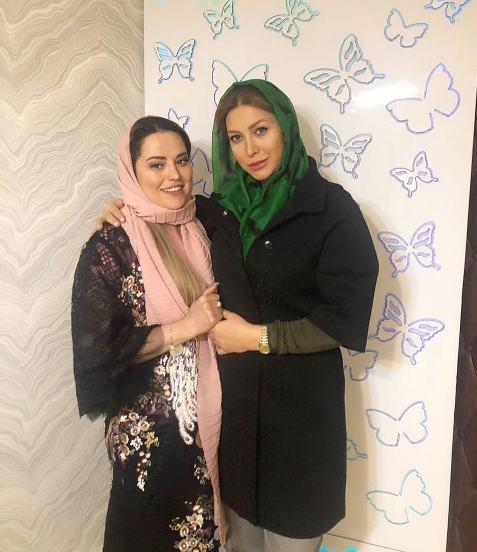 عکس فریبا نادری و دکترش