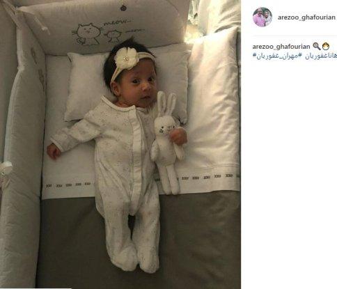 عکس جدید دختر مهران غفوریان