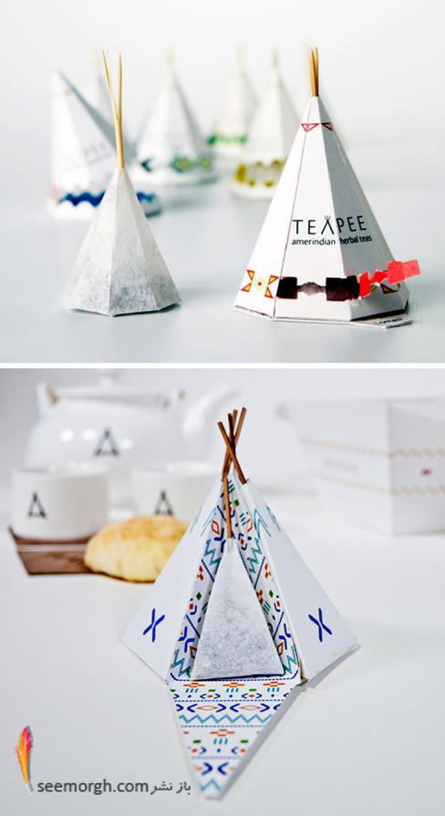 بسته بندی,هنر بسته بندی,روش بسته بندی,packaging,چای کیسه ای