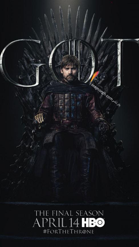 بازي تاج و تخت, بازيگران بازي تاج و تخت,فصل هشتم,پوسترها,Game of Thrones,جيمي لنيستر