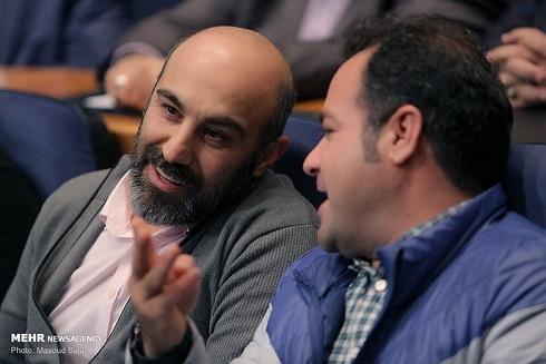 حضور محسن تنابنده در اختتاميه جشنواره تلويزيوني جام جم