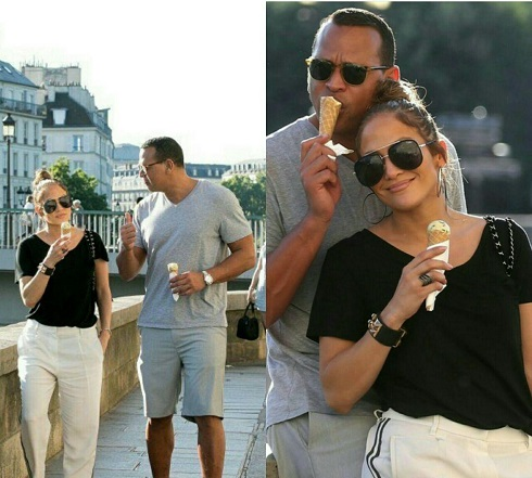 رابطه عاشقانه جنیفر لوپز Jennifer Lopez و الکس رودریگز