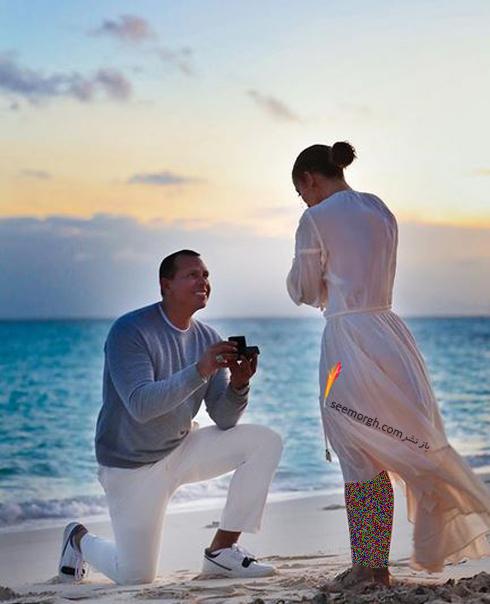 درخواست ازدواج الکس رودريگرز از جنيفر لوپز Jennifer Lopez