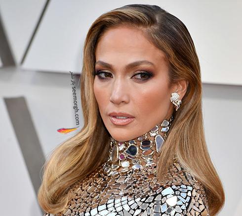 آرايش,آرايش صورت,بهترين آرايش صورت,اسکار,بهترين آرايش صورت در اسکار, بهترين آرايش صورت در اسکار 2019 - جنيفر لوپز Jennifer Lopez