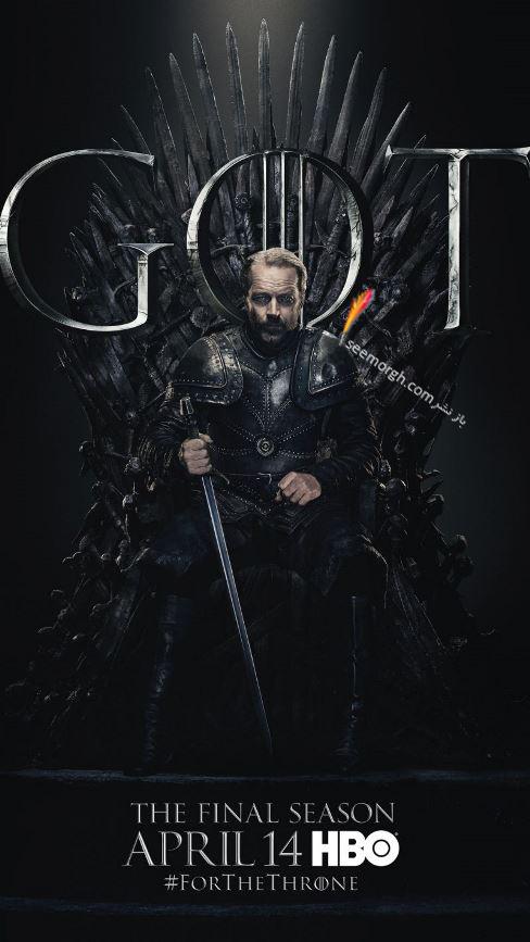 بازي تاج و تخت, بازيگران بازي تاج و تخت,فصل هشتم,پوسترها,Game of Thrones