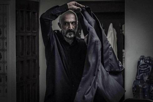 هادی حجازی فر در نقش حاج موسی فیلم لاتاری