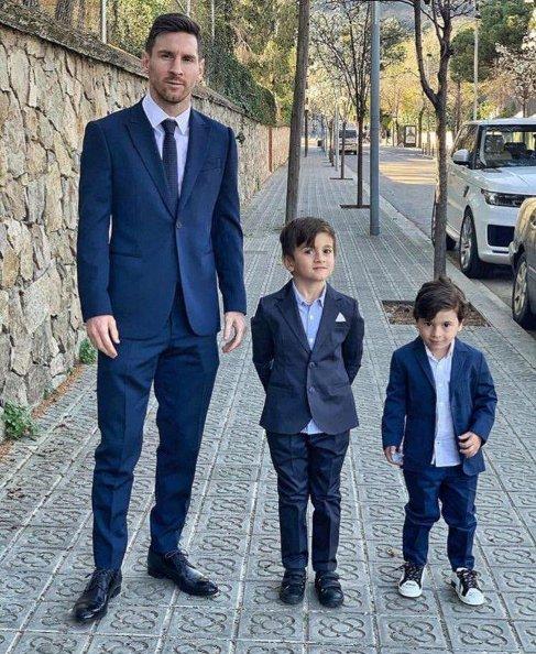 تیپ مسی و پسرانش