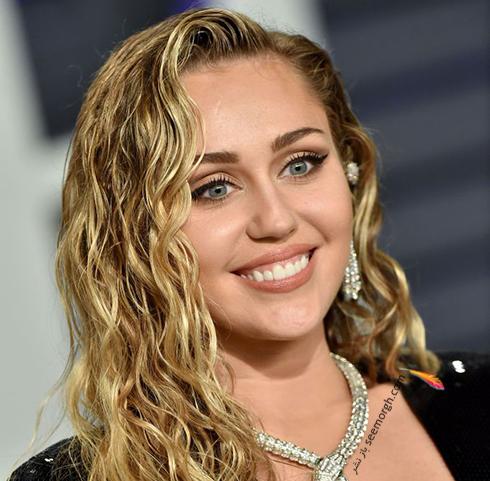 آرايش,آرايش صورت,بهترين آرايش صورت,اسکار,بهترين آرايش صورت در اسکار,بهترين آرايش صورت در اسکار 2019 - مايلي سايروس Miley Cyrus