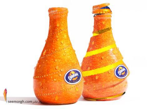 بسته بندی,هنر بسته بندی,روش بسته بندی,packaging,آب پرتقال
