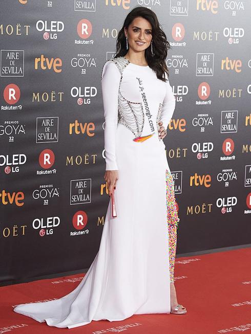 مدل لباس,پنه لوپه کروز,مدل لباس پنه لوپه کروز,بهترین مدل لباس پنه لوپه کروز در جشنواره کن 2018 - مدل لباس شماره 2