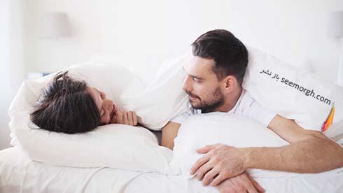 زوج در تختخواب