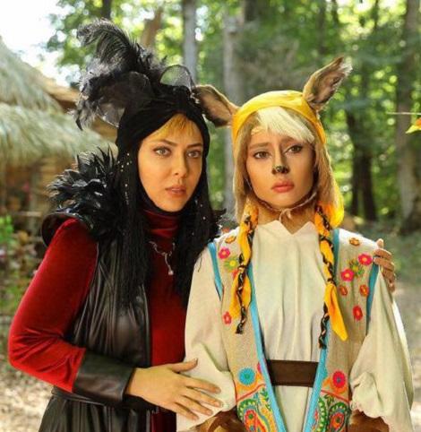ليلا اوتادي و ترلان پروانه در پيشوني سفيد 3
